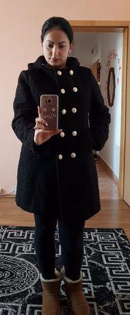 Palton de dama negru