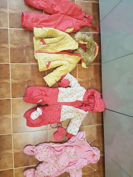 Детские куртки и комбинизоны