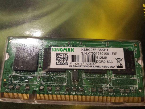 Memorie laptop DDR2,512Mb,533MHz,KINGMAX