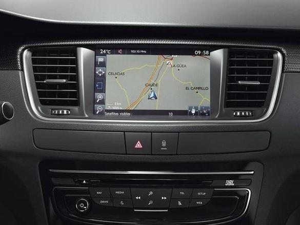 Навигация Peugeot 508