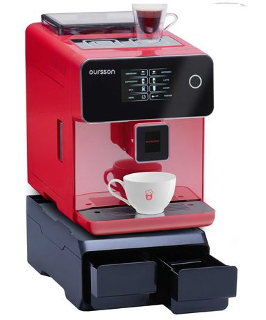 Espressor Semiprofesional Automat Oursson, 19 bar, ecran tactil color,