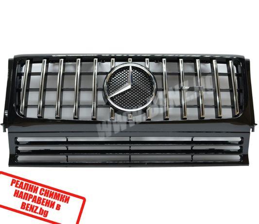 GTR тип решетка за Mercedes W463 W205 W166 X166 W167 reshetka мерцедес