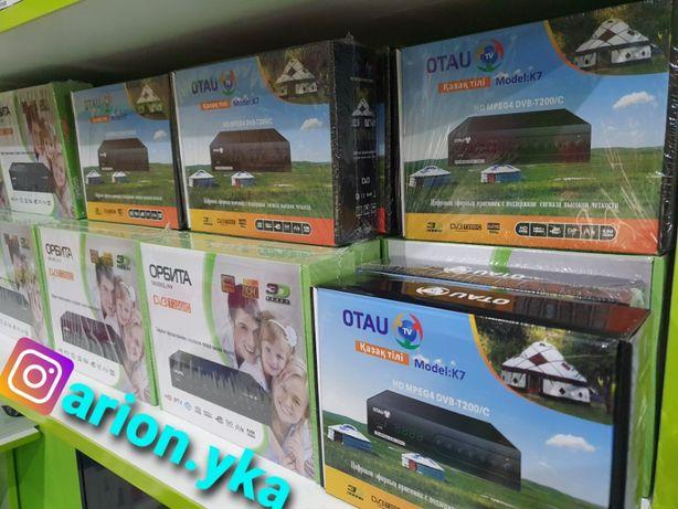 Эфирный приемник Отау оригинал! DVB-T2! 27 каналов бесплатно! Тюнер.