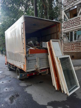 Вывоз мусор строй , хлам низкие цены без входных по городу Алматы