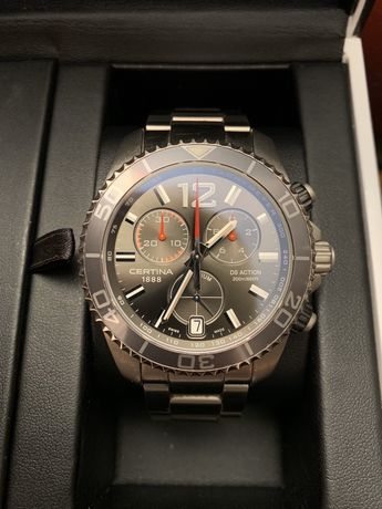 CERTINA DS Action Diver Titanium