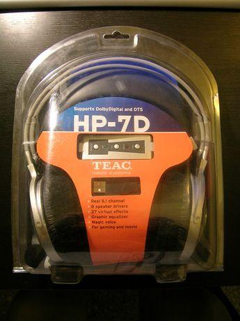 Компютърни слушалки с микрофон TEAC HP-7D 5.1 DTS