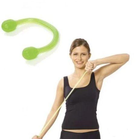 Эспандер плечевой, грудной силиконовый для оздоровительной гимнастики