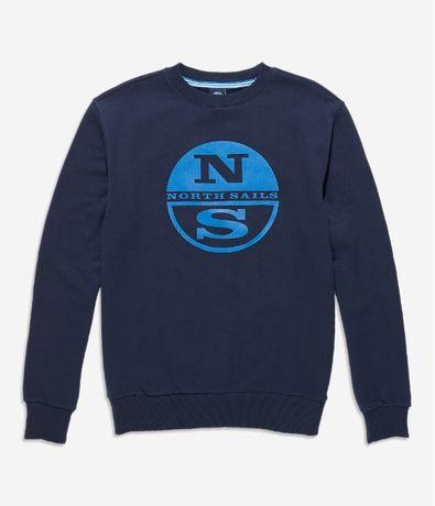 НОВ North Sails Graphic Crew Sweat ОРИГИНАЛЕН мъжки суичър/блуза - р.S