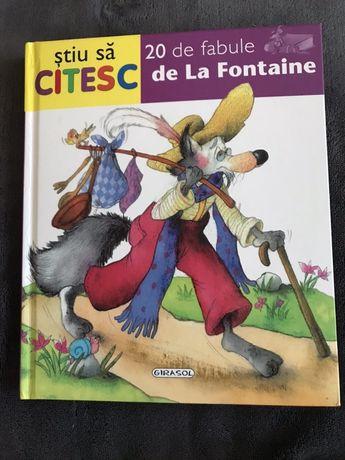 Stiu sa citesc. 20 de fabule de La Fontaine.