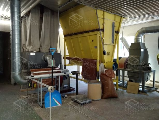 Линия для производства эковаты 150 - 700 кг/ч