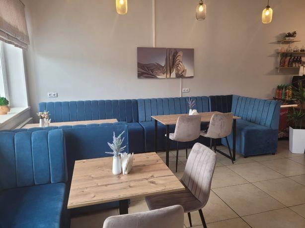 Диван столы стулья барная стойка для кофейни ресторанов и кафе