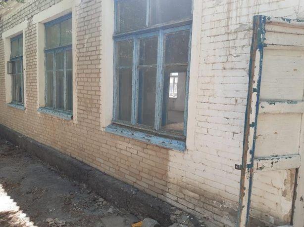 Продаётся часть старой школы, село Такыркол, перекрытия ж/б плиты
