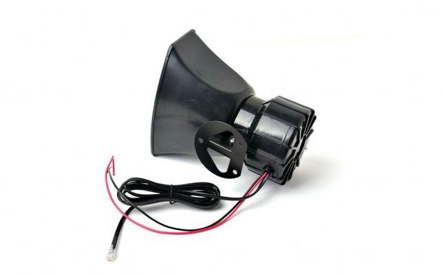 Sirena 6 Melodii + Microfon Putere 100W