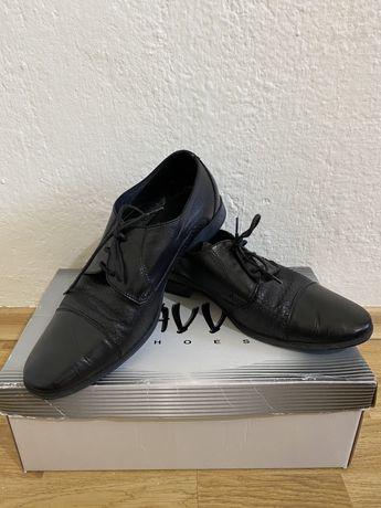 Мъжки обувки естествена кожа 40 номер