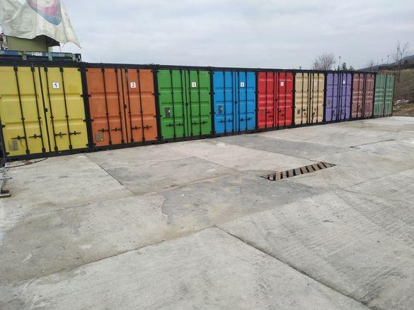 """Складове под наем 15 и 30 кв.м. - контейнер 20 """" и 40 """""""