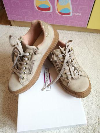 Pantofi pentru fetițe, marca Venice Deichman, m. 34, puțin purtate