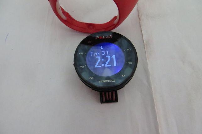Ceas smartwatch Polar M200, HR, Rosu