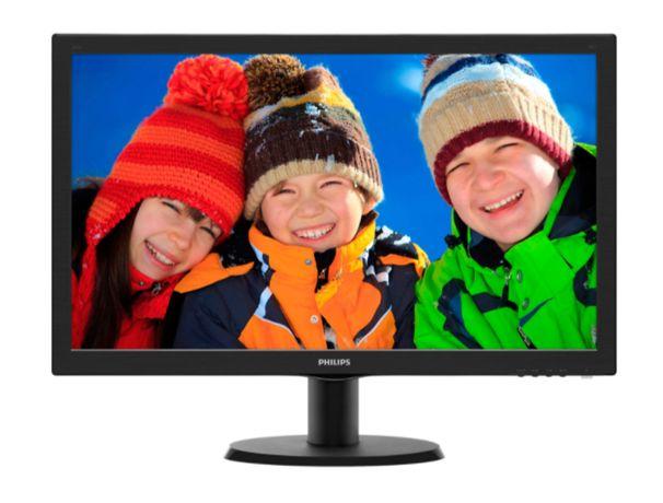"Monitor LED Philips 23.6"", Wide, Full HD, HDMI, DVI 243V5LHAB"