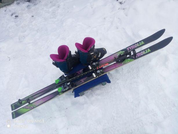 Горные лыжи в комплекте