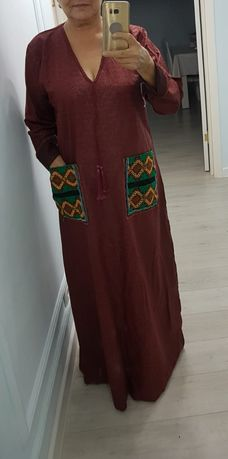 Платье свободное в египетском стиле