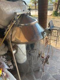 Pasteurizator gas 300/330l