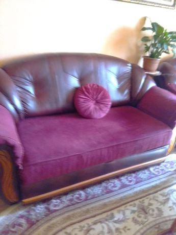 Set-canapea si fotoliu
