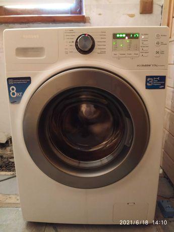 стиральная машина SAMSUNG, ecobuble, загрузка 8 кг