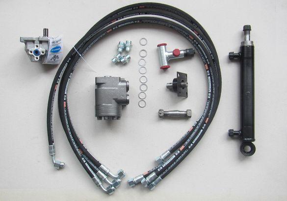 Комплект преоборудване Т25 с помпа-дозатор и цилиндър хидрав