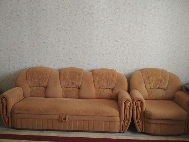 Продам мебель диван и кресло