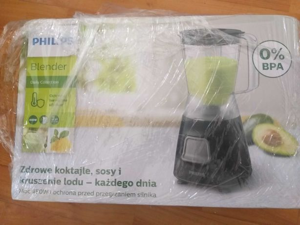 Blender Philips Daily Collection HR2052/90, 450 W, 1.25 l, Pulse-NOU