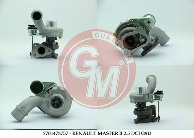 TURBO 2,5 DCI G9U Renault Master 2 110 - 120 HP