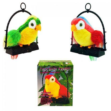 Детска играчка - говорещ папагал