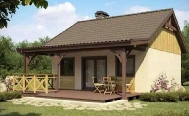 vând case pe structură metalică