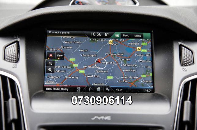 Card sync 2 navigatie F8 Ford Focus Mondeo Kuga S-max Romania 2019