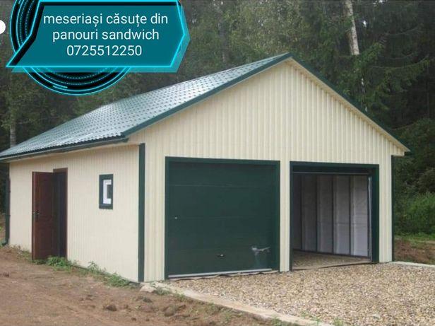 Vând hală garaj demontabile preț 6.000 euro suprafață de 36 m pătrați