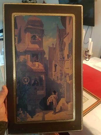 Tablou vechi litografie