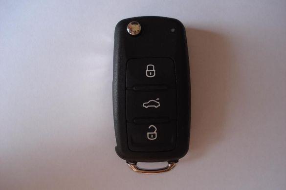 Ключ за vw 434mhz 5FA GOLF 5,6/ Tiguan / Jetta 5K0 837 202AB / AD
