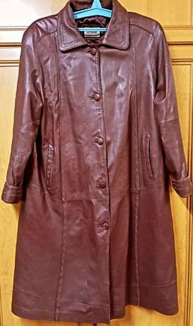 Продается кожаный плащ