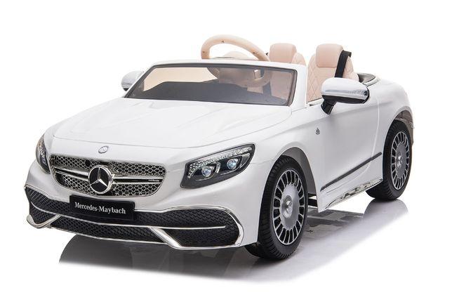 Masinuta electrica Mercedes S650 MAYBACH PREMIUM #Alb