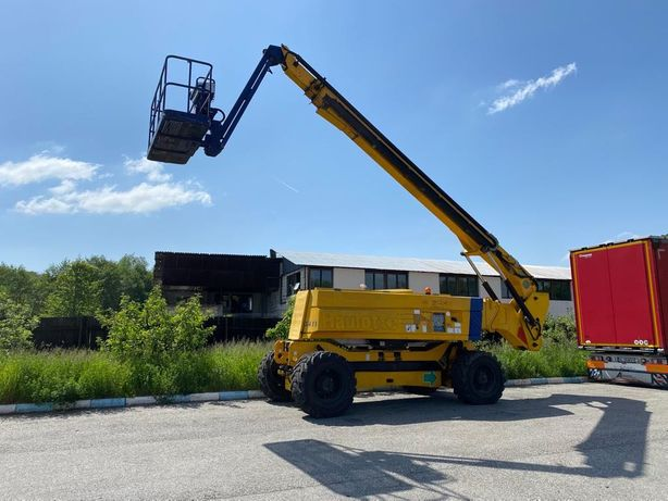 Nacela Haulotte de inchiriat diesel 32 m si 43 m 4x4 piese nacele