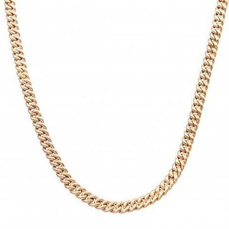 Lant cu zale din aur galben rose 14K, 106 cm, 37,8 grame, PAU131