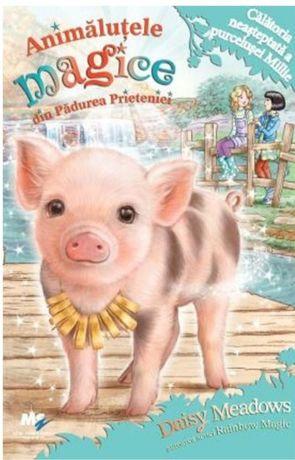 Serie carti Animalute magice din Padurea Prieteniei (6 carti) NOI