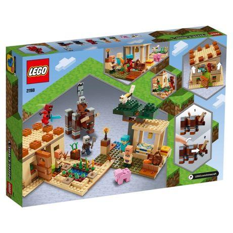 LEGO 21160 Minecraft Патруль разбойников новые оригинал !