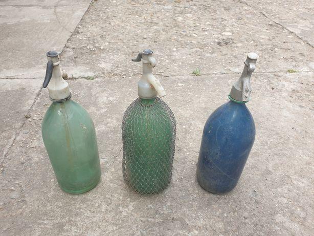 Sticle sifon vechi