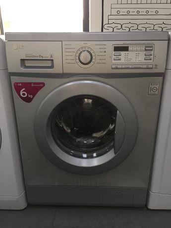 Стиральная машина LG grey