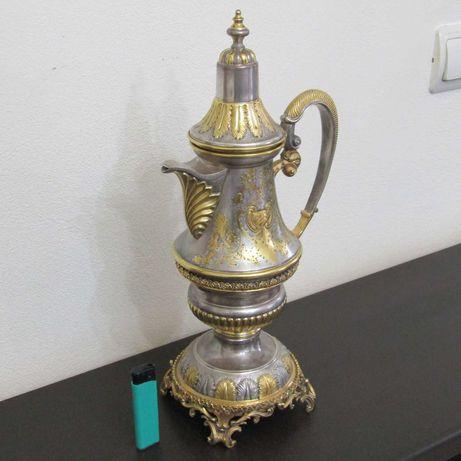 Carafa argint aurit sec -XVIII