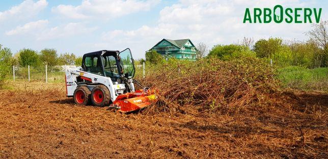 Cosire curatare - defrisare iarba arbusti rugi ambrozie