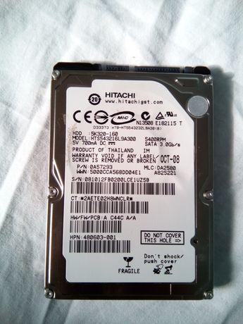 Hard disk laptop SATA Hitachi Travelstar 5K320 160GB 5400RPM 8MB!!