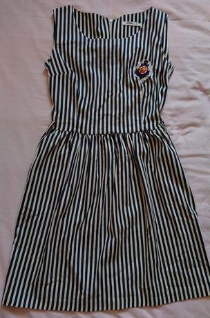 Женское платье, в полоску