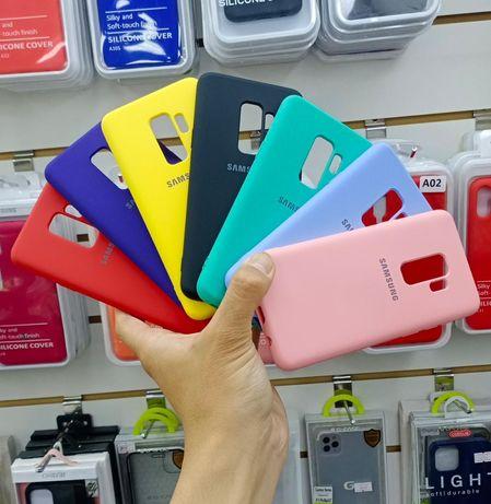 Чехлы Самсунг Samsung силикон s9/s9 plus/a6/s8/a71/a12/a02/a02s/a52